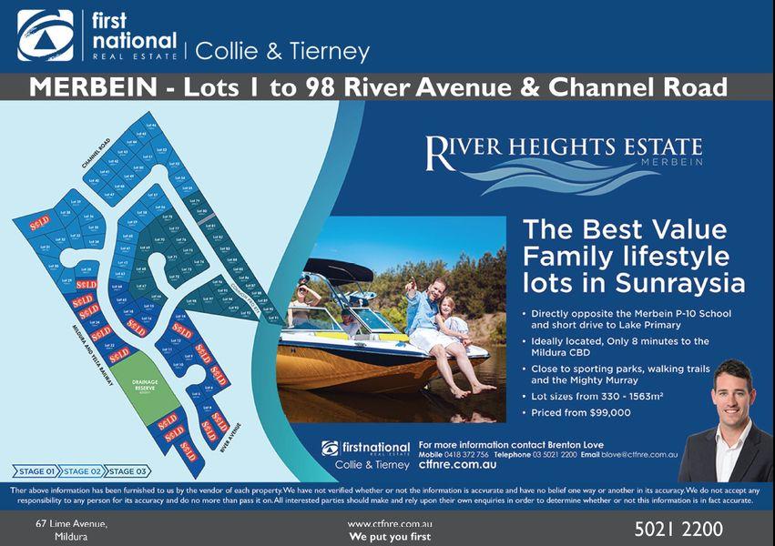 Lot 1 - 98/67 River Avenue, Merbein, VIC 3505