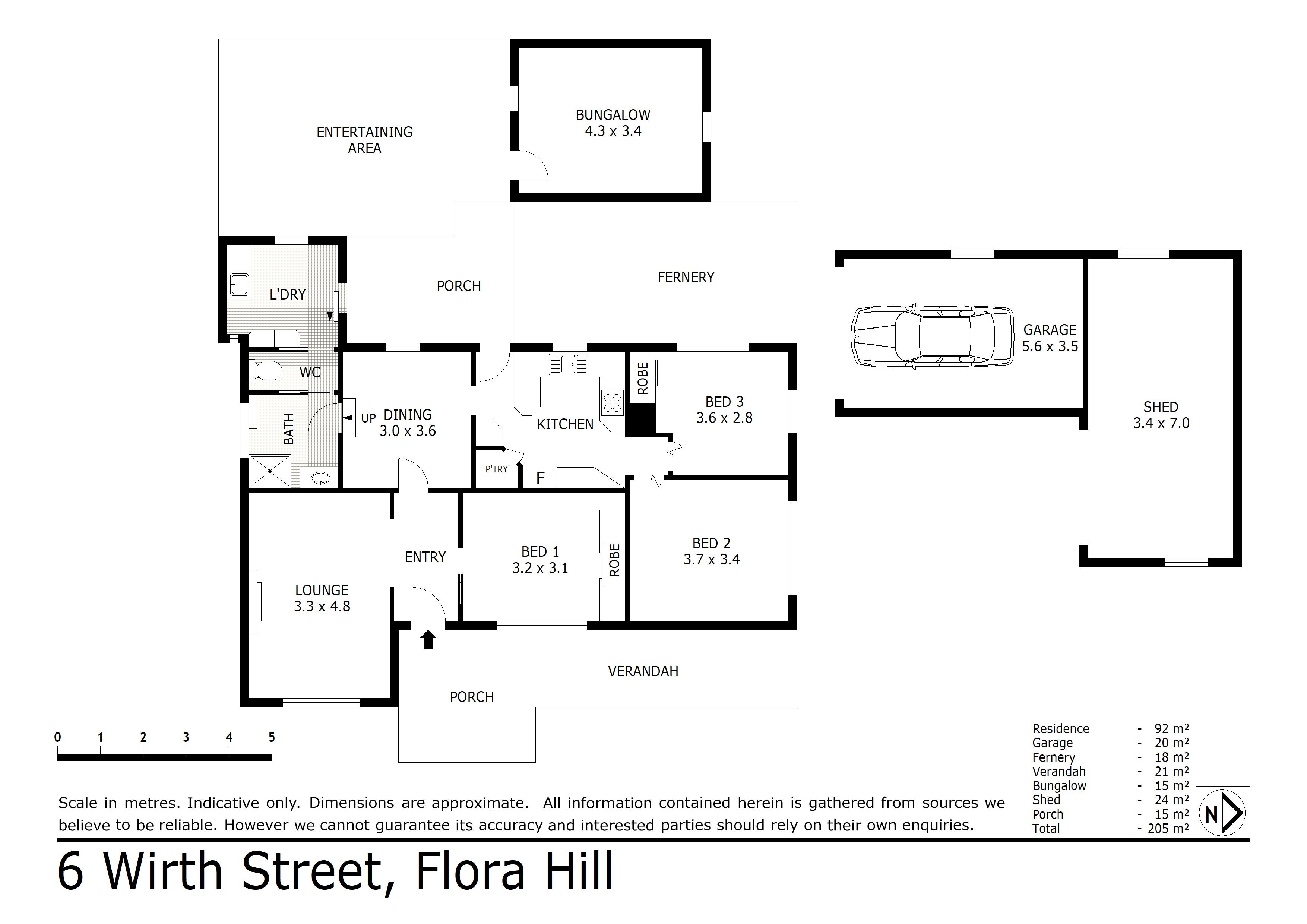 6 Wirth Street, Flora Hill, VIC 3550