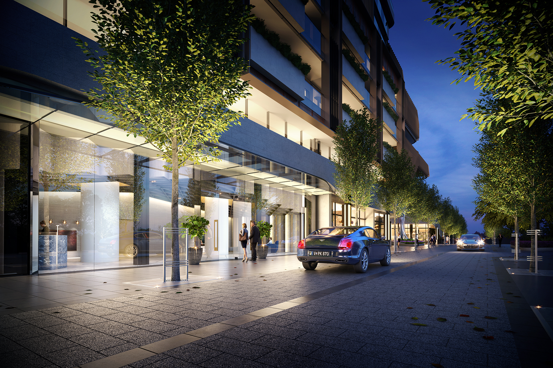 OSKH9386 Melbourne Square EA04 Lobby