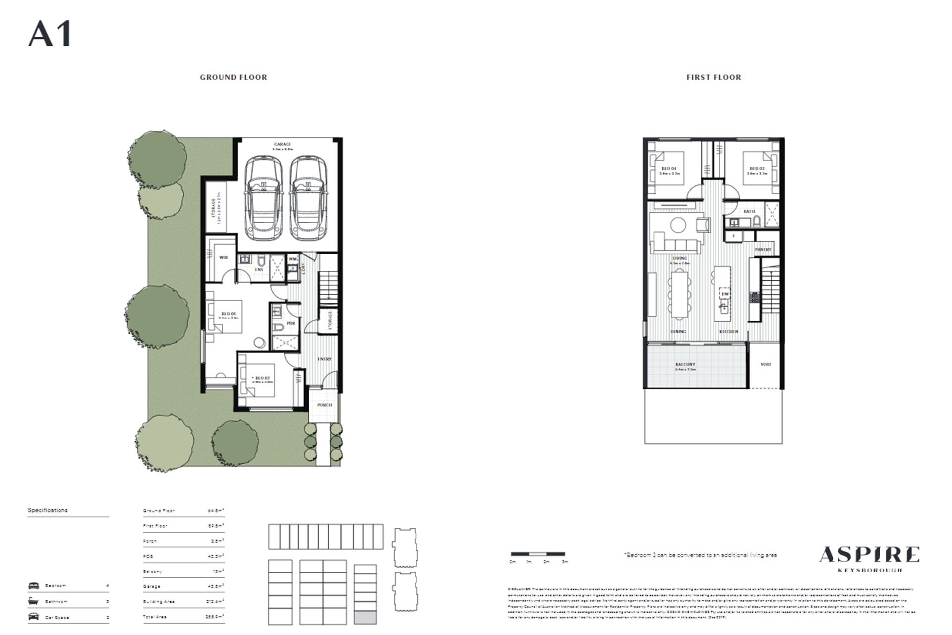 Aspire   A1 Floor Plan (Apartment)