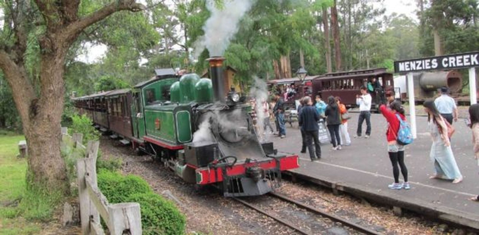 Puffing Billy at Menzies Creek
