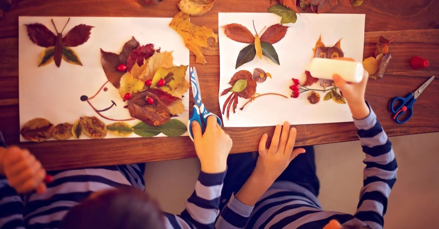 Autumn Arts & Crafts for the Extended School Holidays