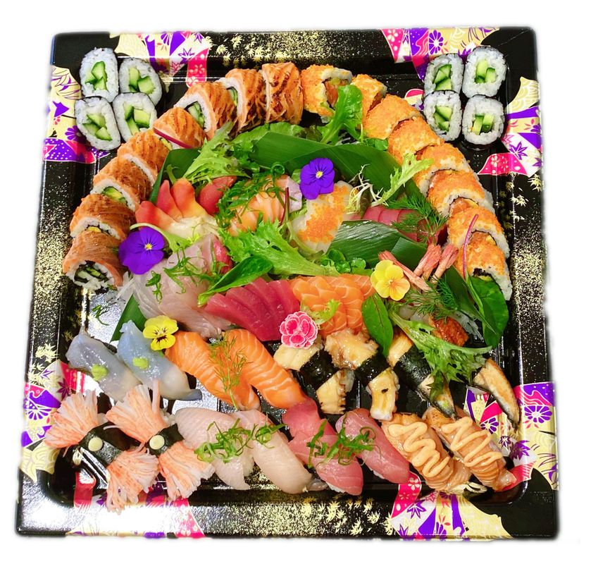 Sushi Sashimi Deluxe Platter