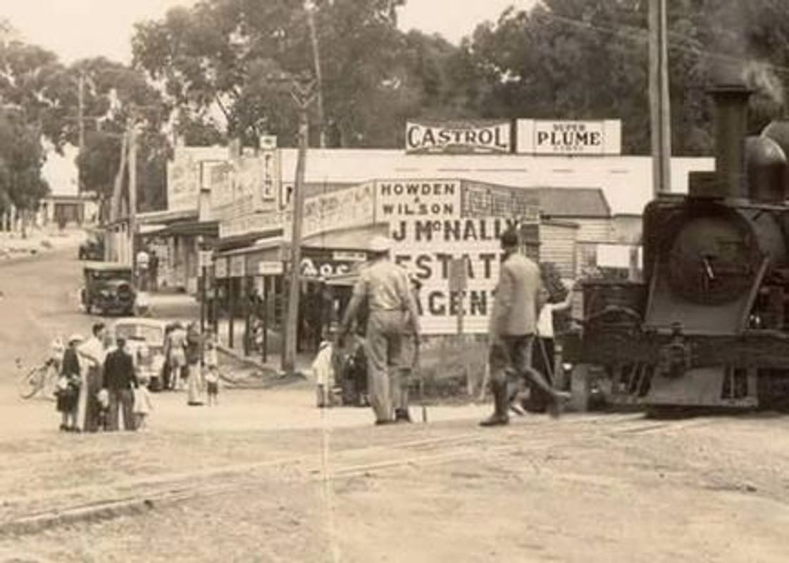 Upwey 1930s