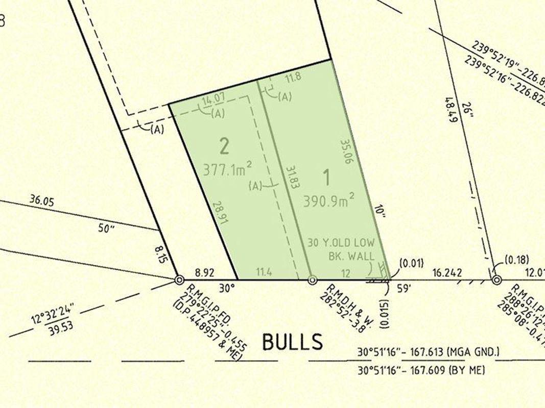 Street Property Group Lot 11 12 57 Bullsgarden Road