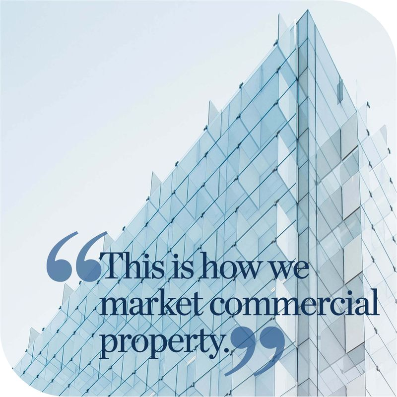 Commercial property marketing