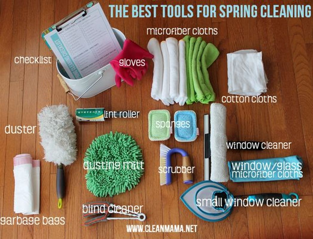 Cleaning Tools example