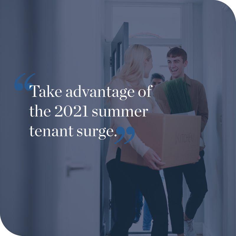 Summer surge tenant blog