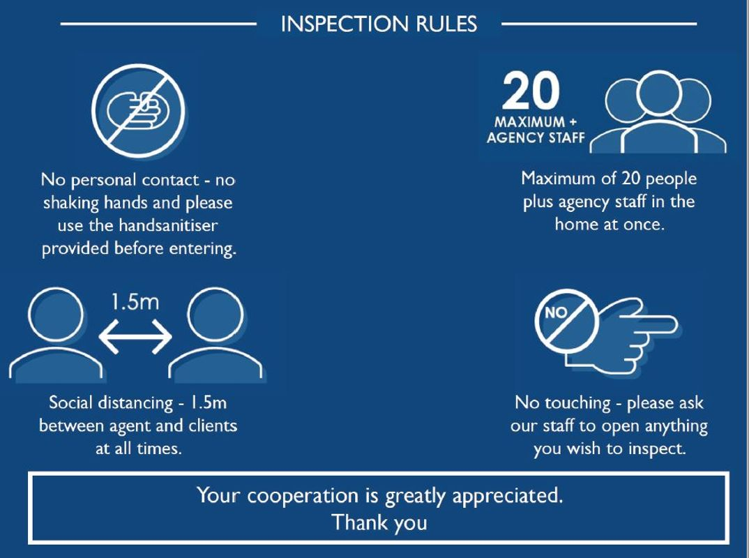 Covid-19 Inspections