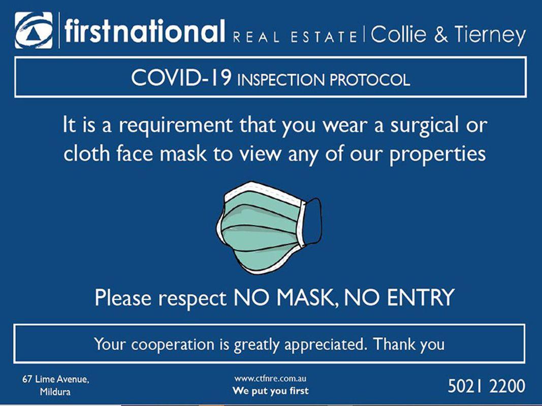No Mask No entry