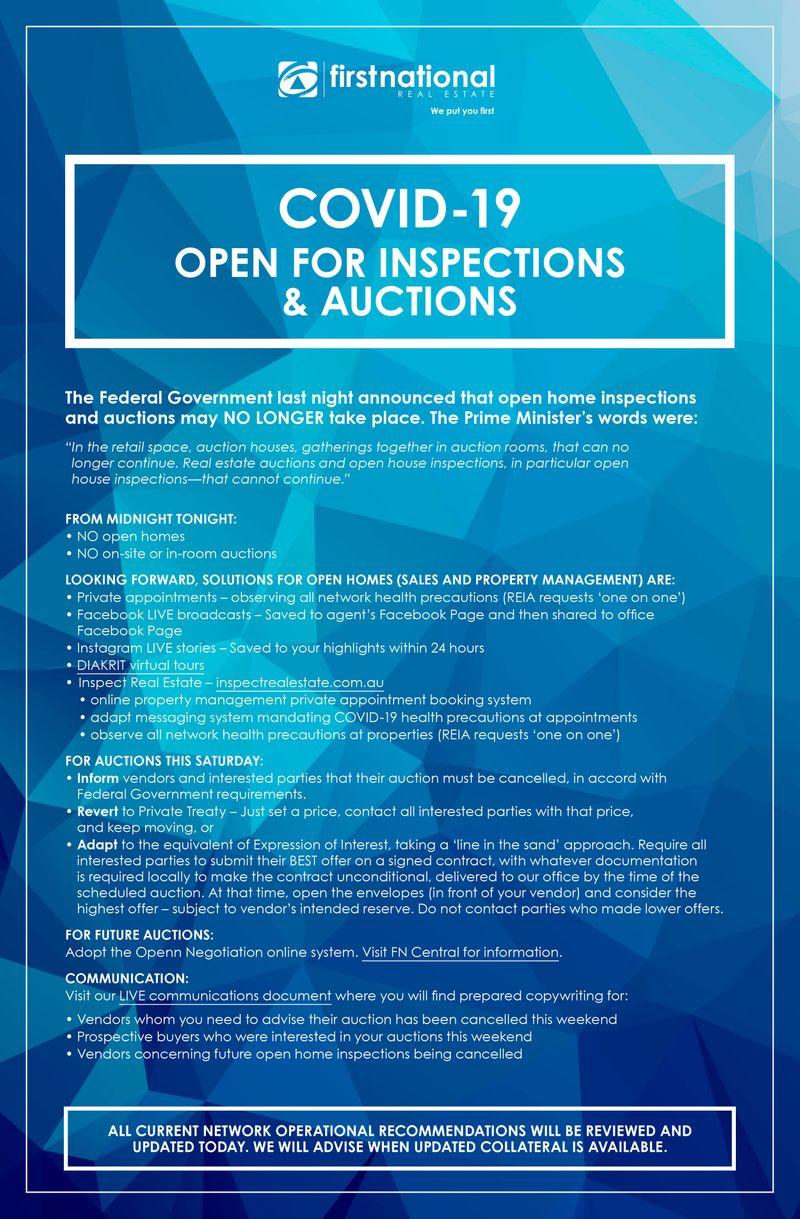 OFI's & Auctions