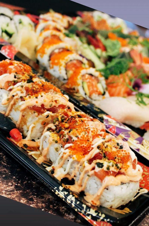 Spicy Salmon Volcano Sushi