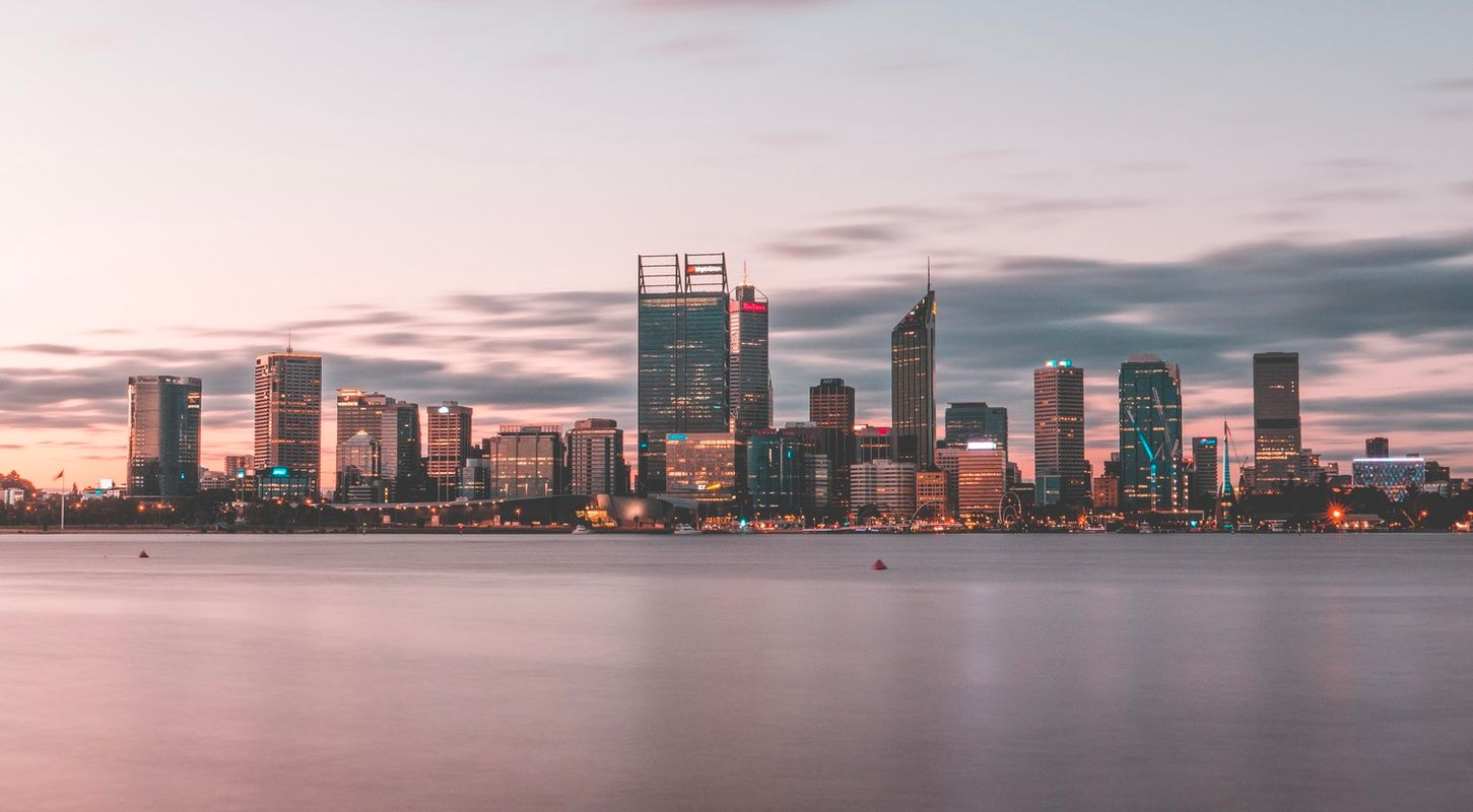 Perth Attraction and Sight Seeing City Skyline