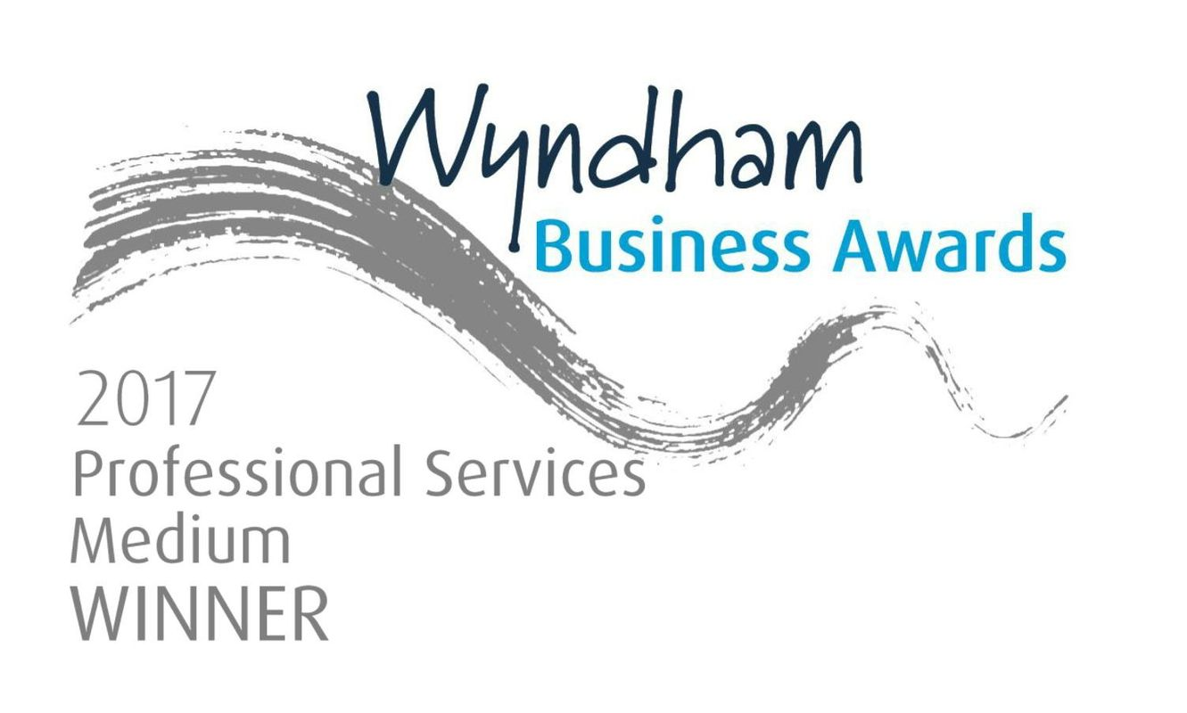 Wyndham Business Award, Professional Services - Winner!