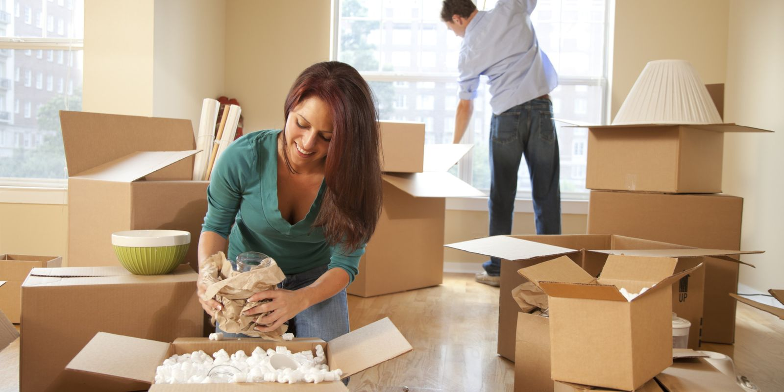 Unpacking on your new home