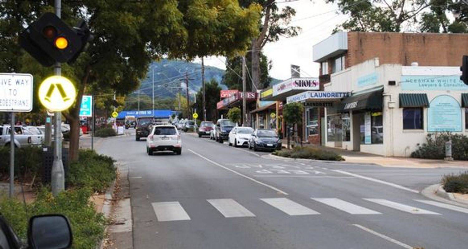 Monbulk Main Street