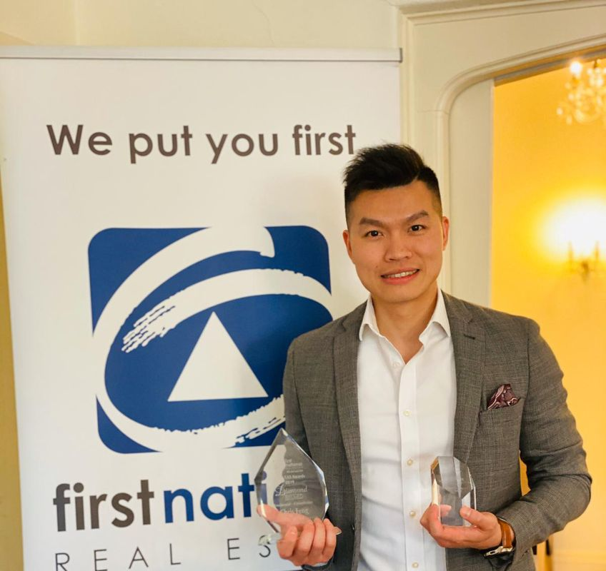 Chris Feng - Top 7 Sales person 2019