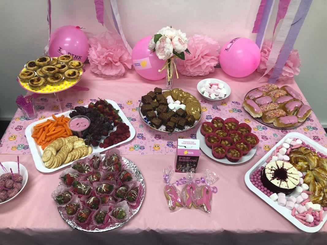pink ribbon food