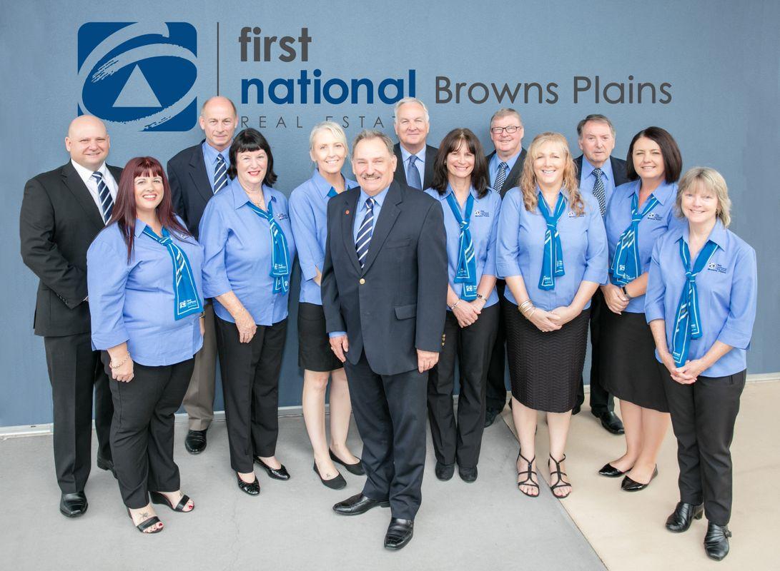 First Nat Browns Plains Team