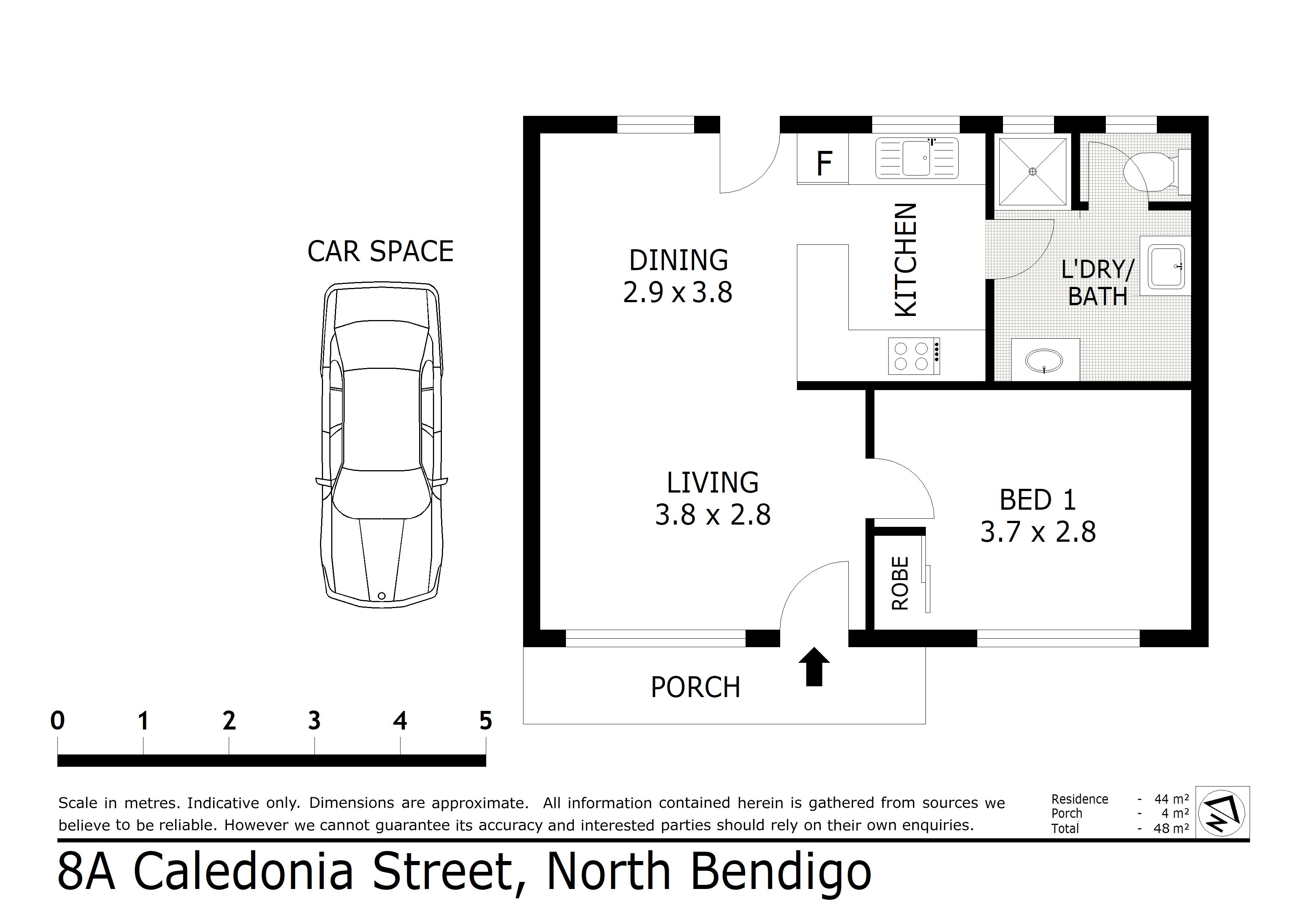 8A Caledonia Street, North Bendigo, VIC 3550