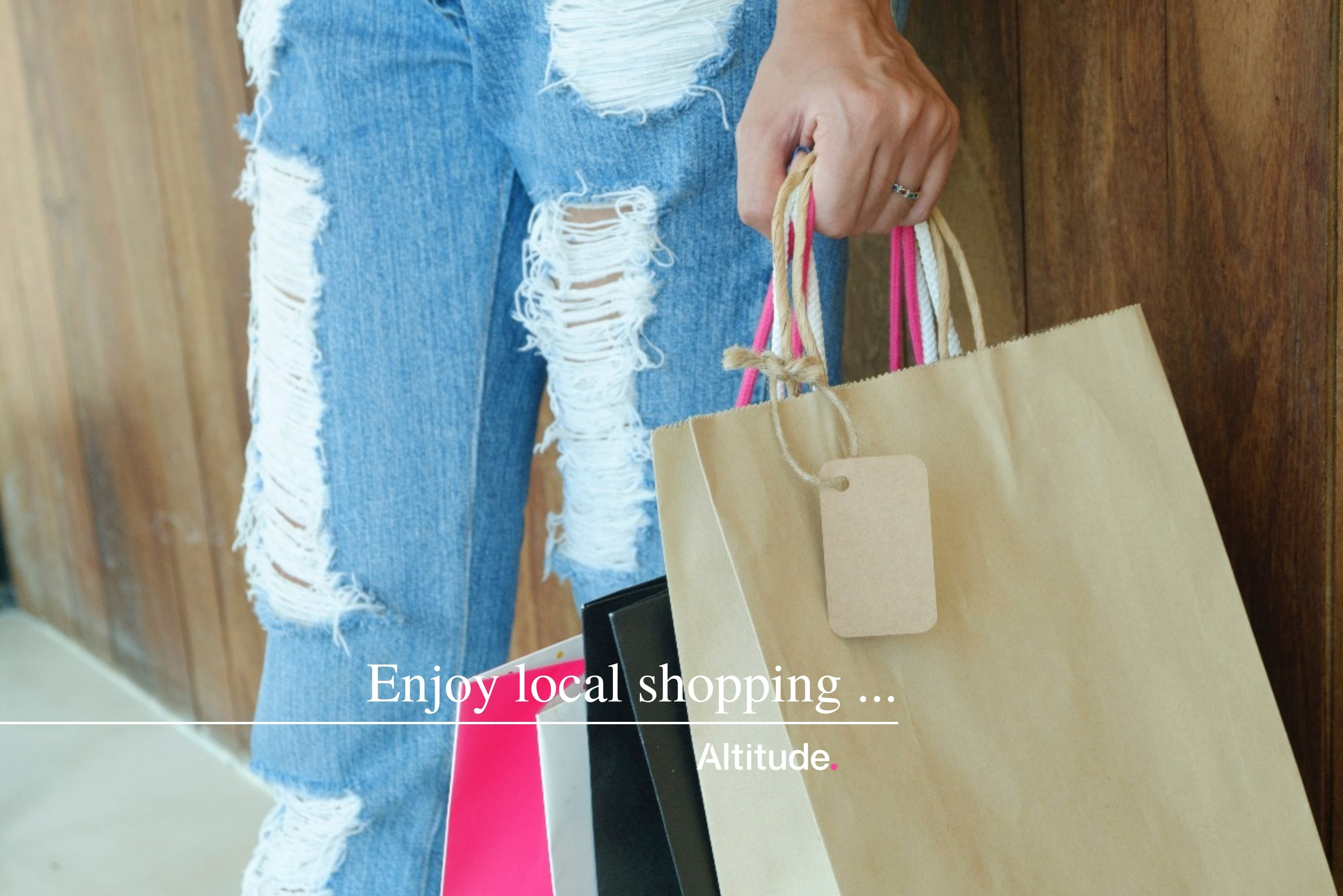 Leasing Campaign Image   Enjoy Local Shopping
