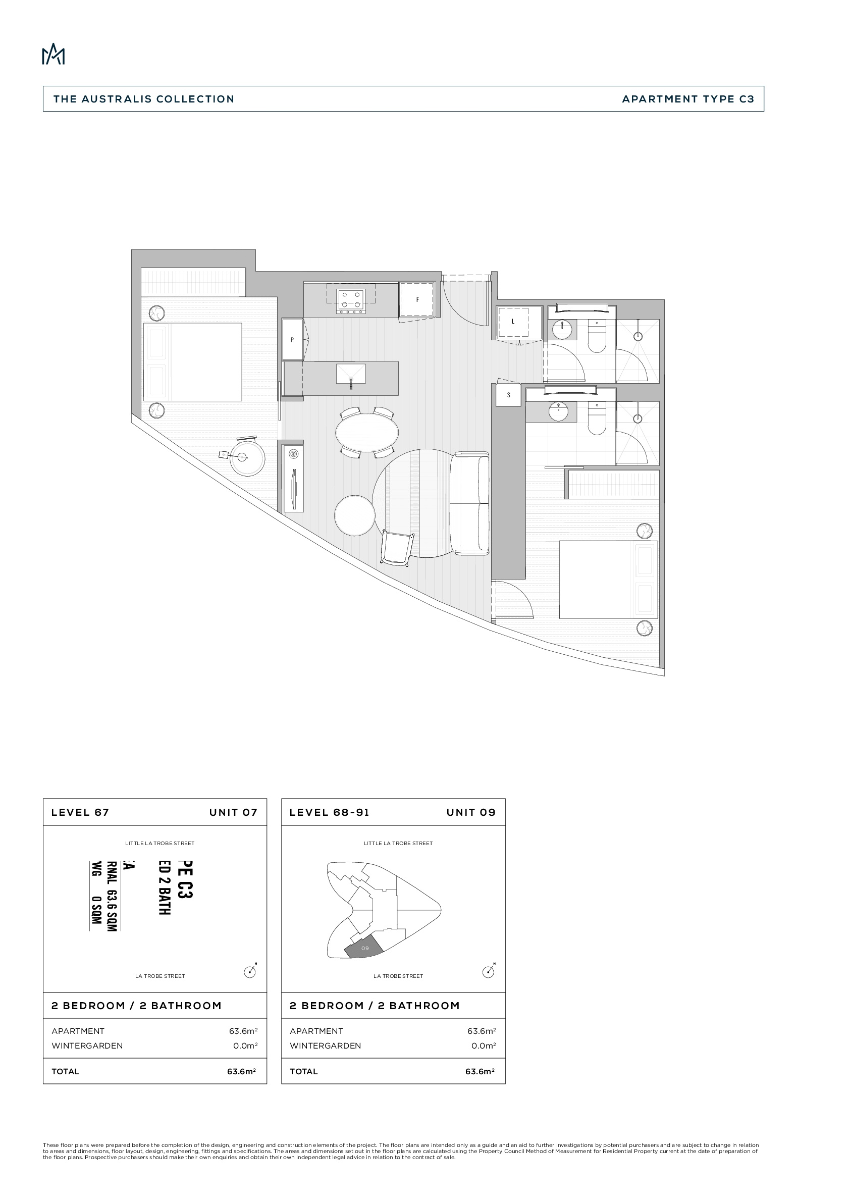 Ironfish Real Estate 7703 224 252 La Trobe Street Melbourne Vic 3000