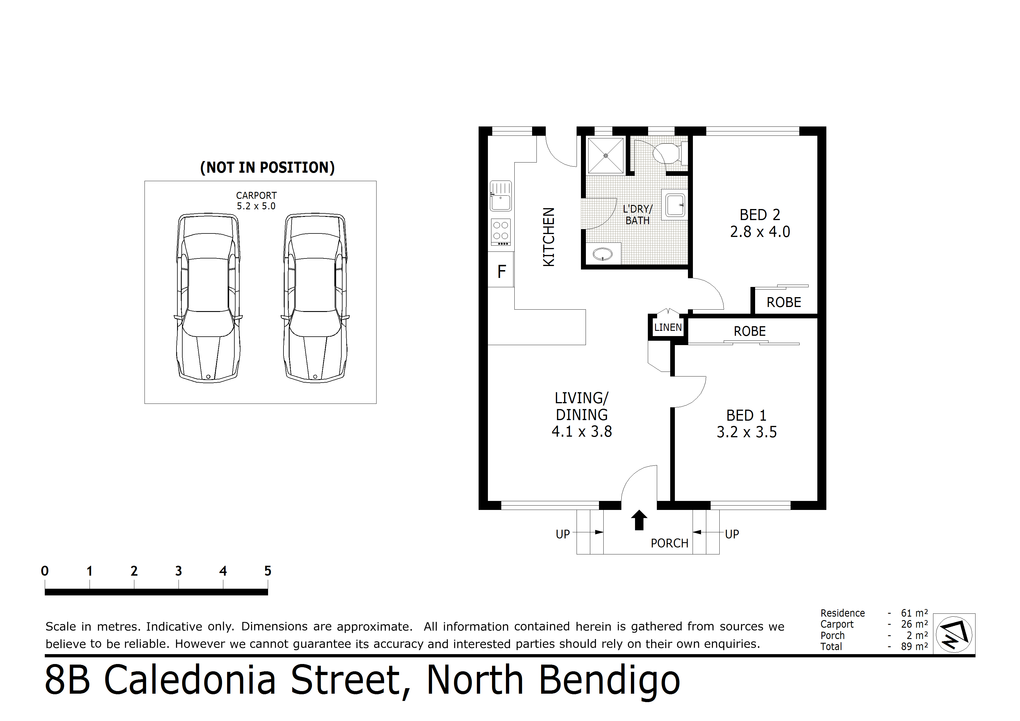 8B Caledonia Street, North Bendigo, VIC 3550