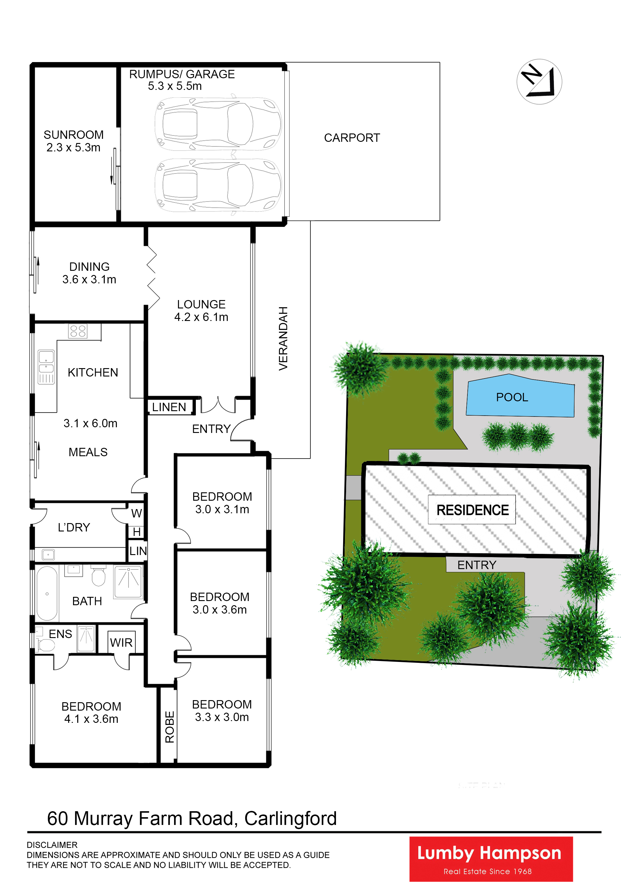 Lumby hampson 60 murray farm road carlingford nsw 2118 for 15 st judes terrace dural