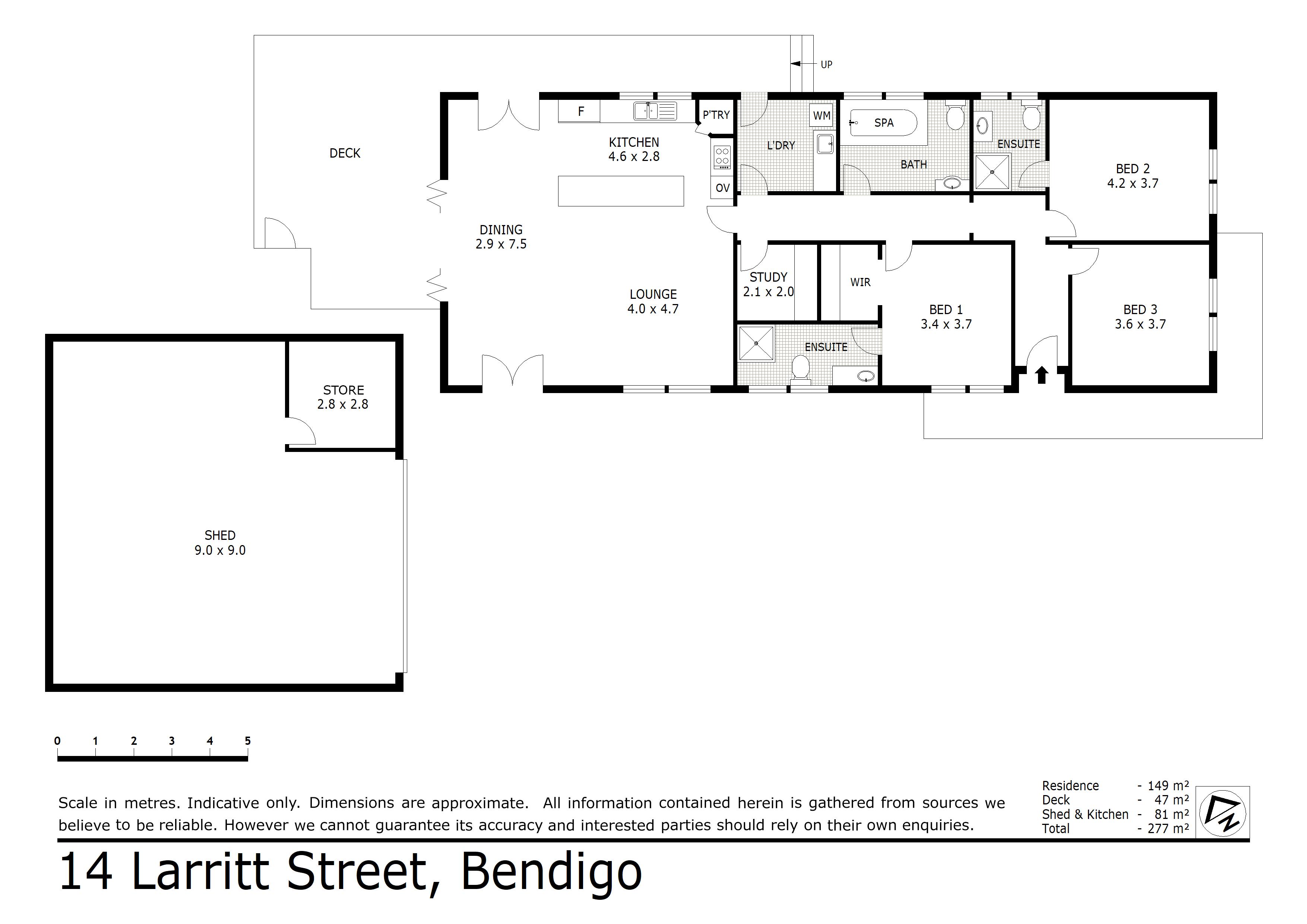 14 Larritt Street, Bendigo, VIC 3550