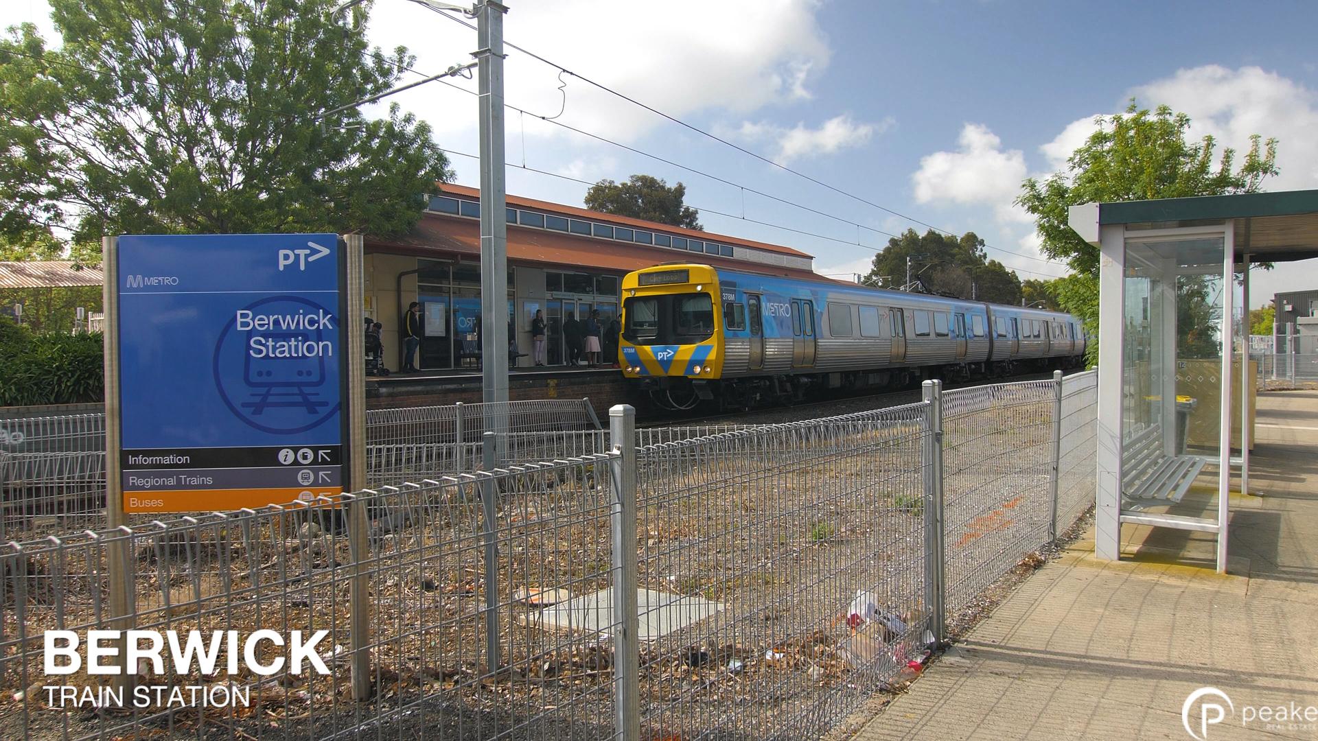 Berwick Station Text