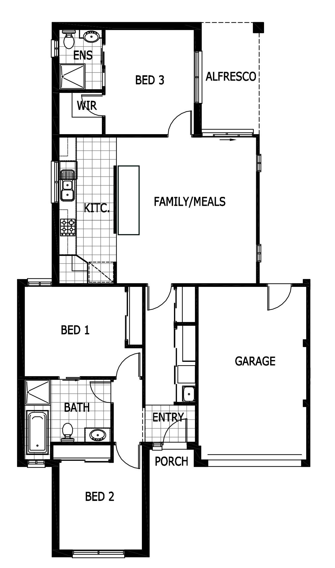63 Thwaites Road Pakenham Floorplan