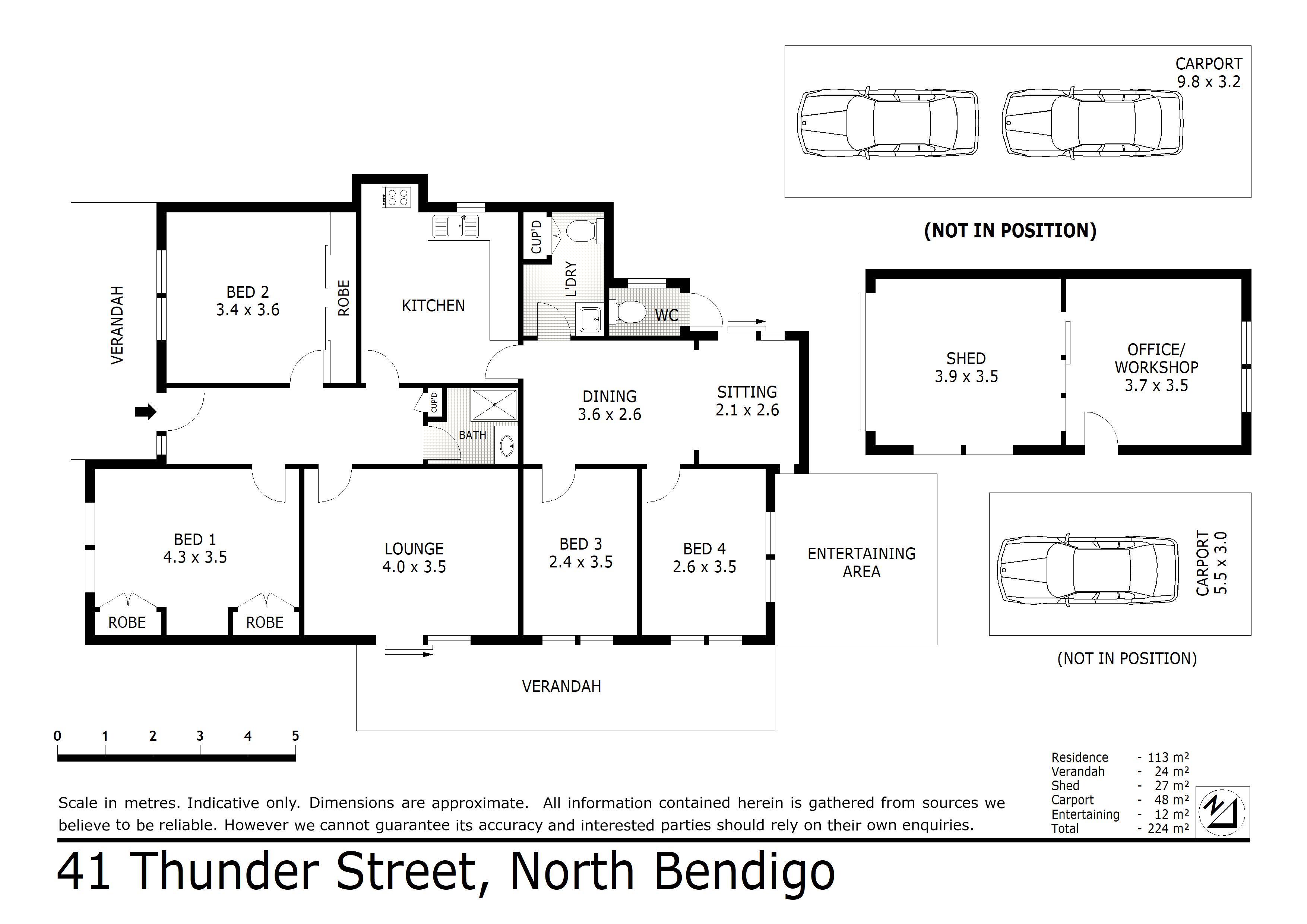 41 Thunder Street, North Bendigo, VIC 3550