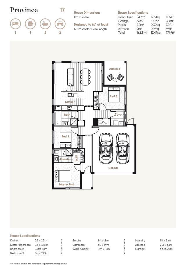 Floor Plan   Province 17