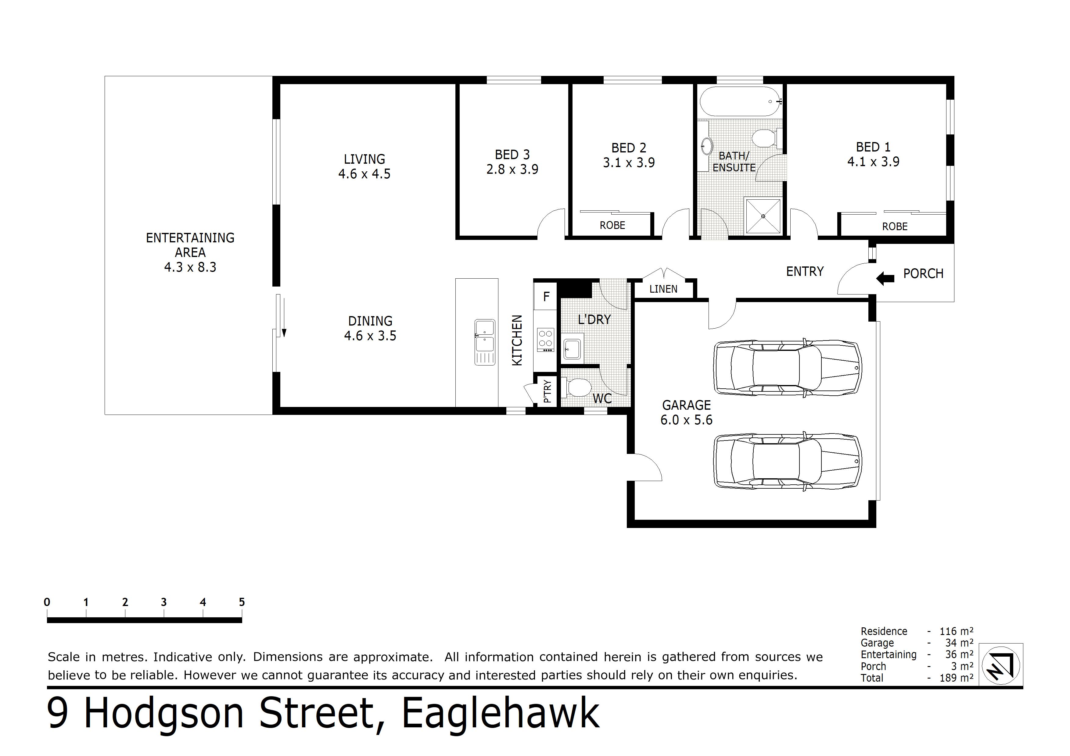 9 Hodgson Street, Eaglehawk, VIC 3556