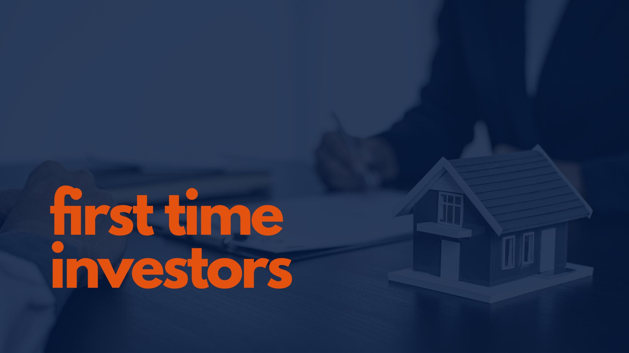 1st time investors