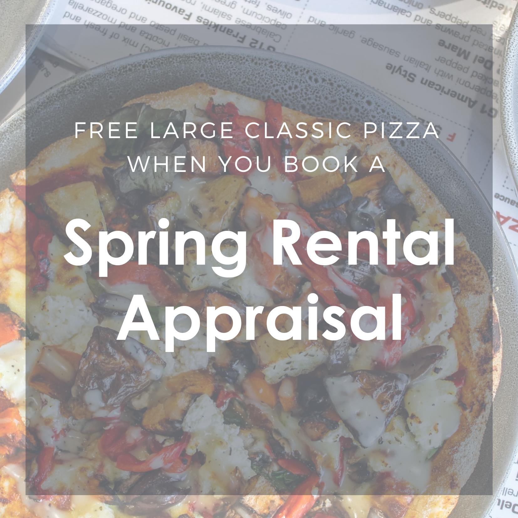 Spring Appraisal Offer