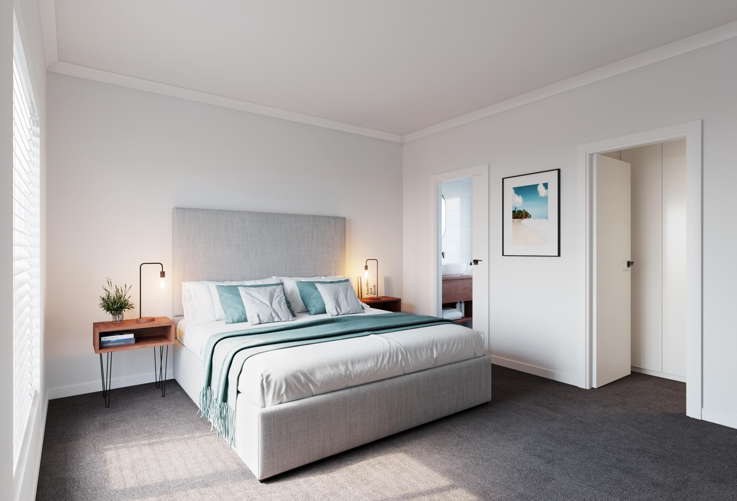 UNIT 1 BEDROOM 1