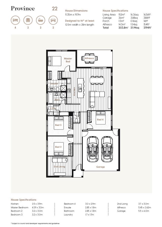 Floor Plan   Province 22
