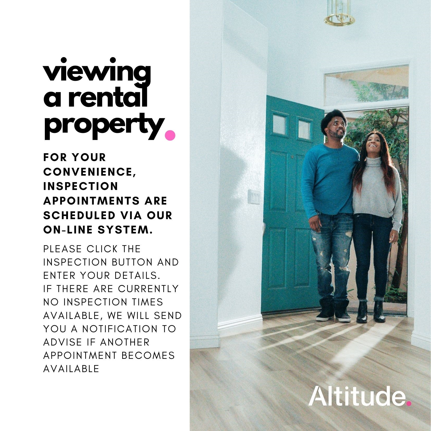 Leasing Campaign   Booking a Viewing