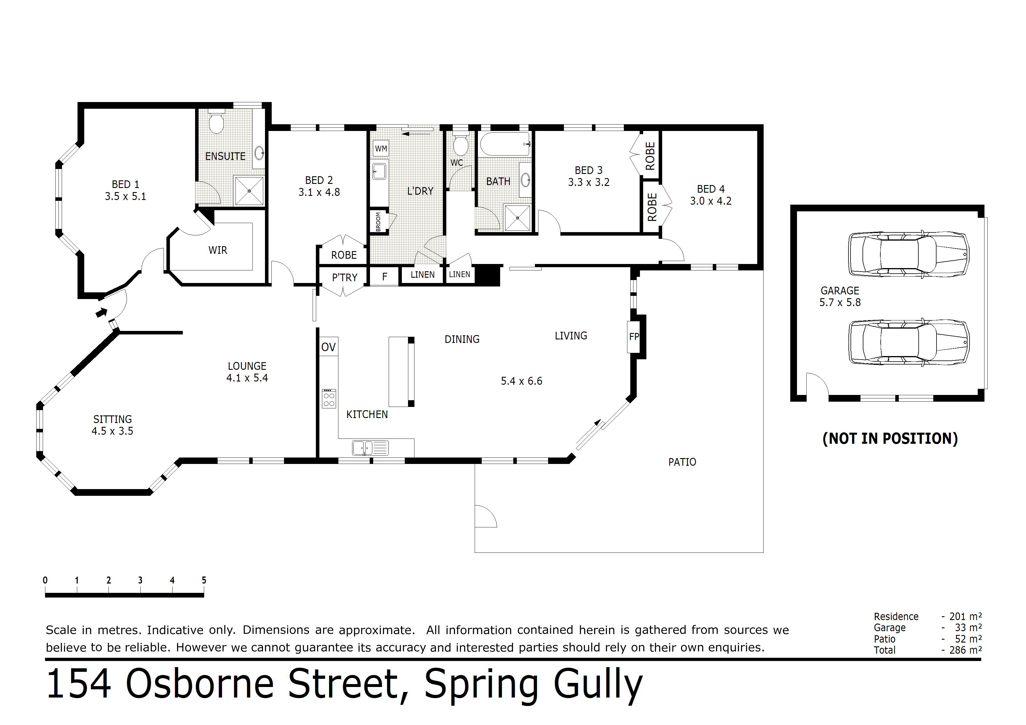 154 Osborne Street, Spring Gully, VIC 3550