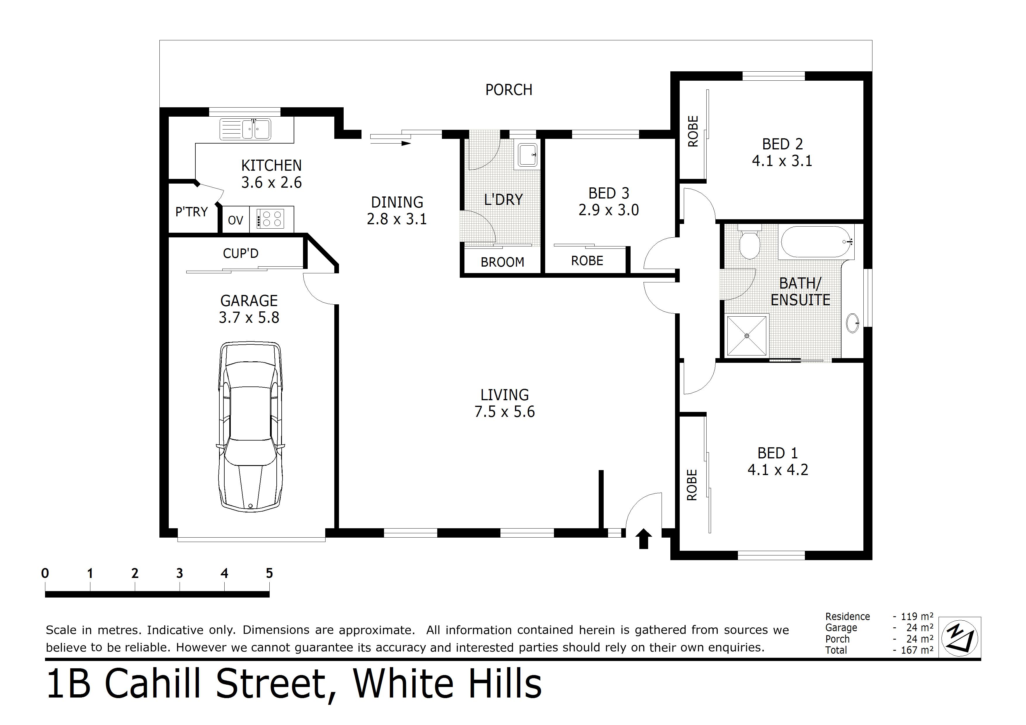 1B Cahill Street, White Hills, VIC 3550