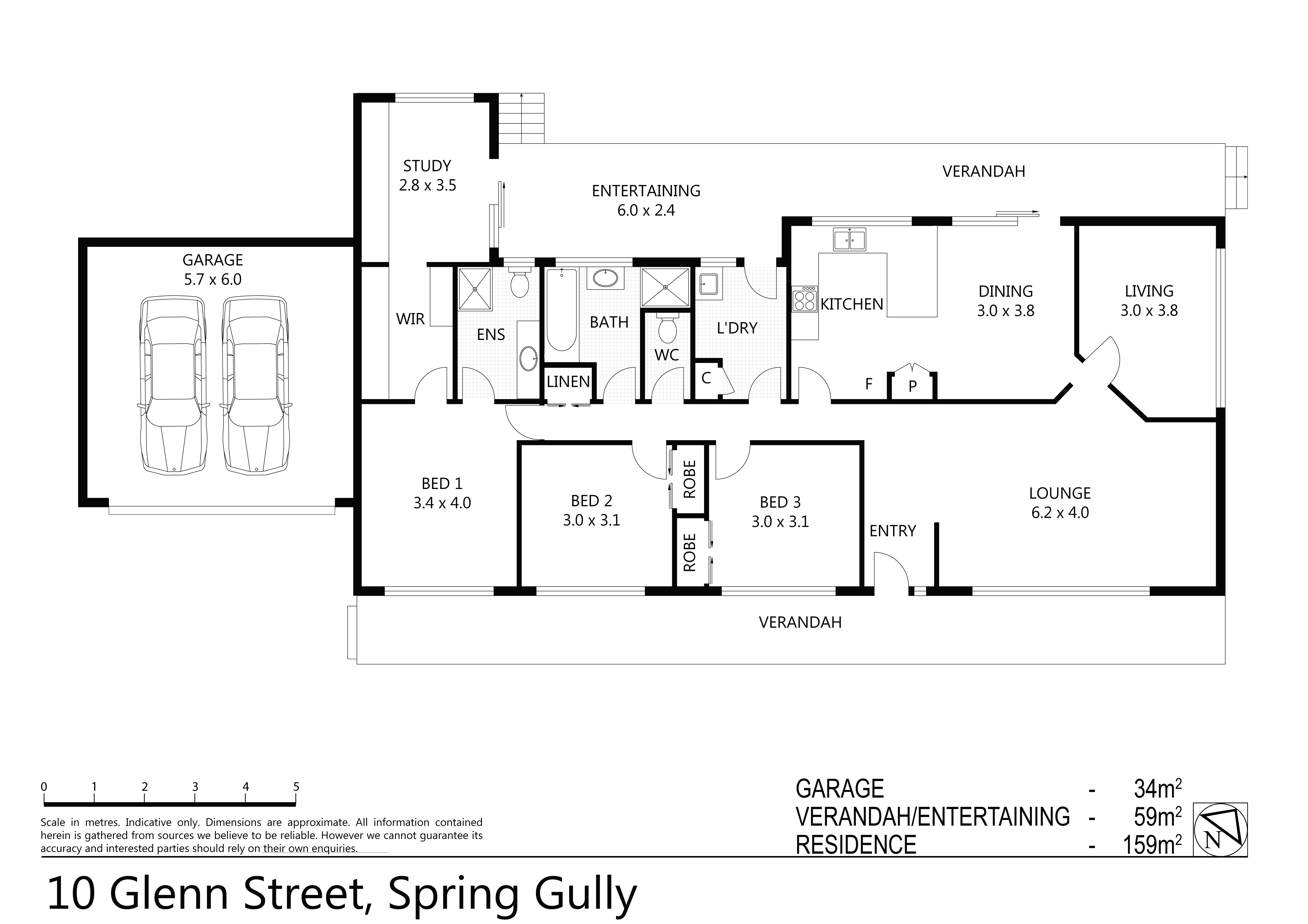 Mckean Mcgregor 10 Glenn Street Spring Gully Vic 3550 Schematic Gully20 Jun 2018 159 Sqm