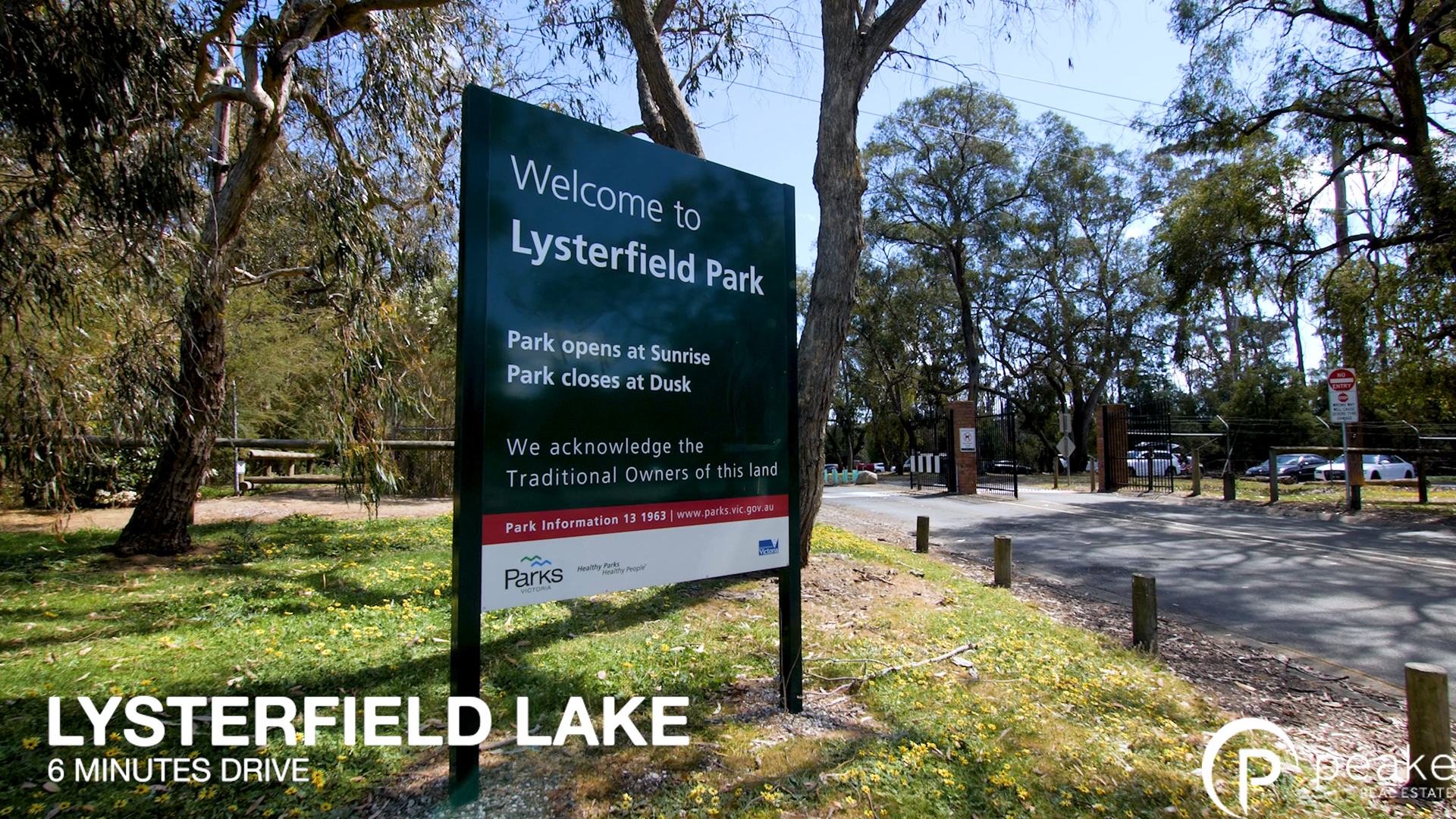Lysterfield Lake text