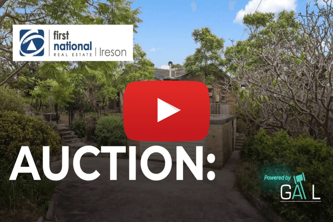 Ireson First National Auction Highlights - 19 Amaroo Avenue Castle Cove