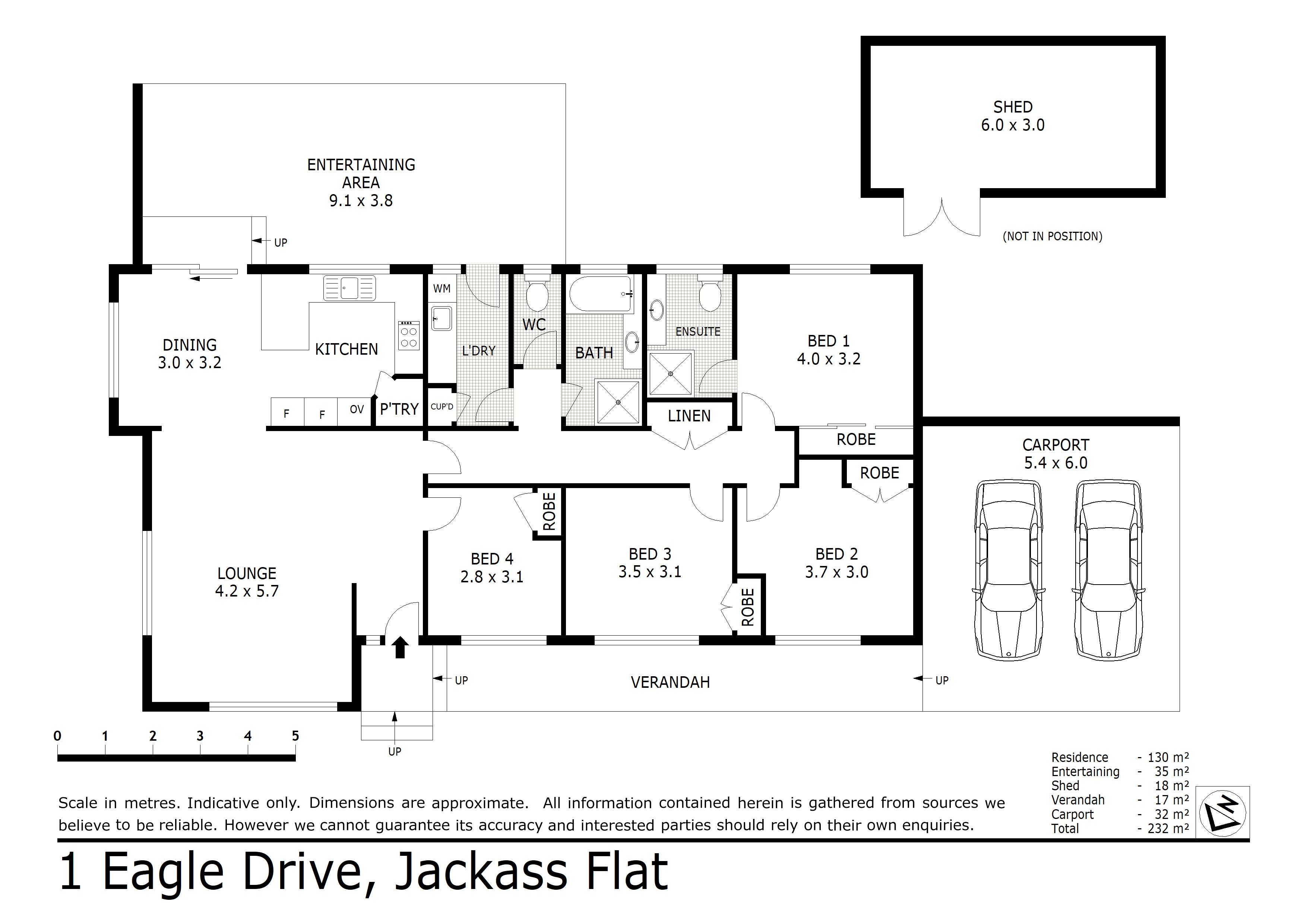 1 Eagle Drive, Jackass Flat, VIC 3556