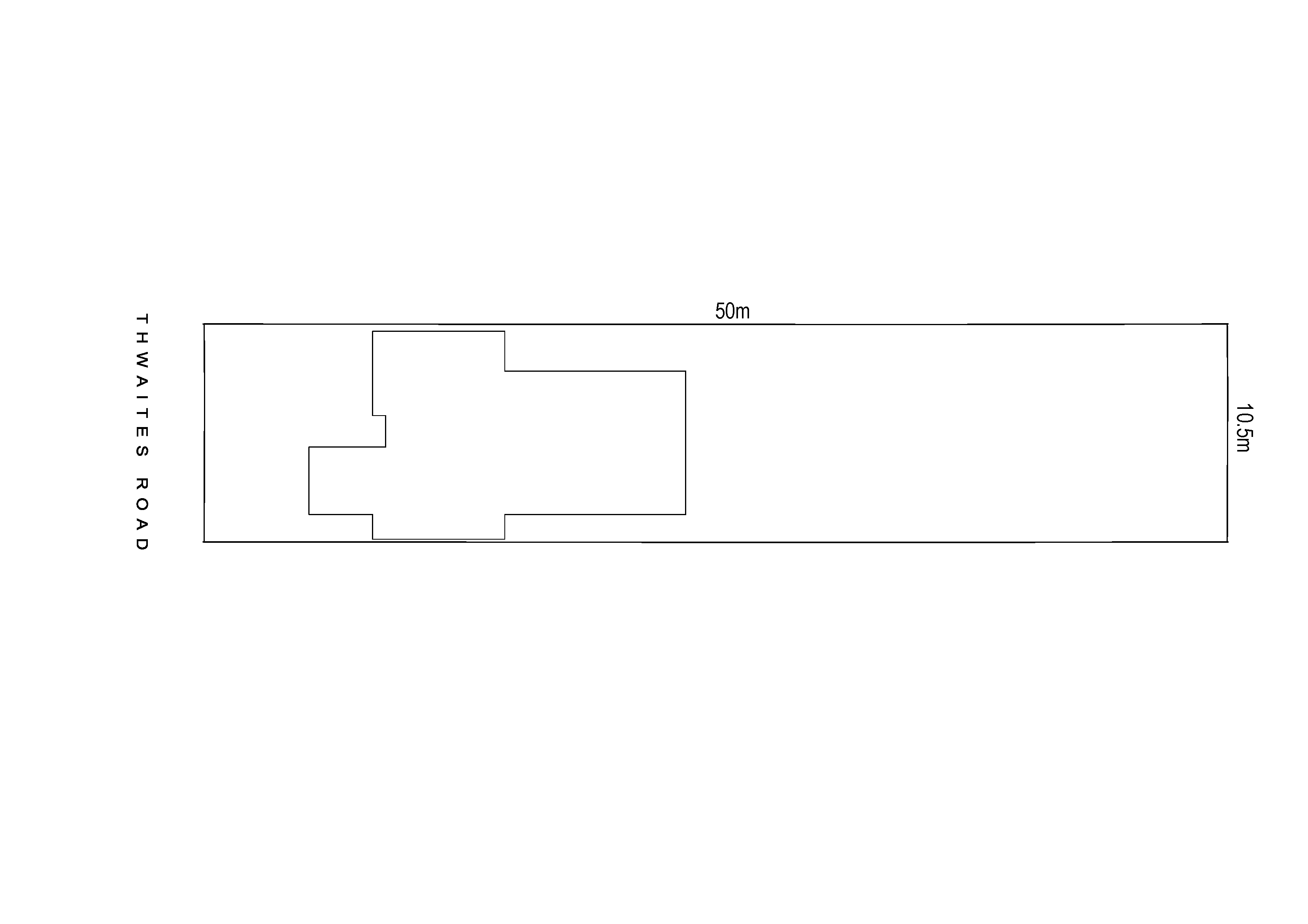 61ThwaitesRdPakenham siteplan