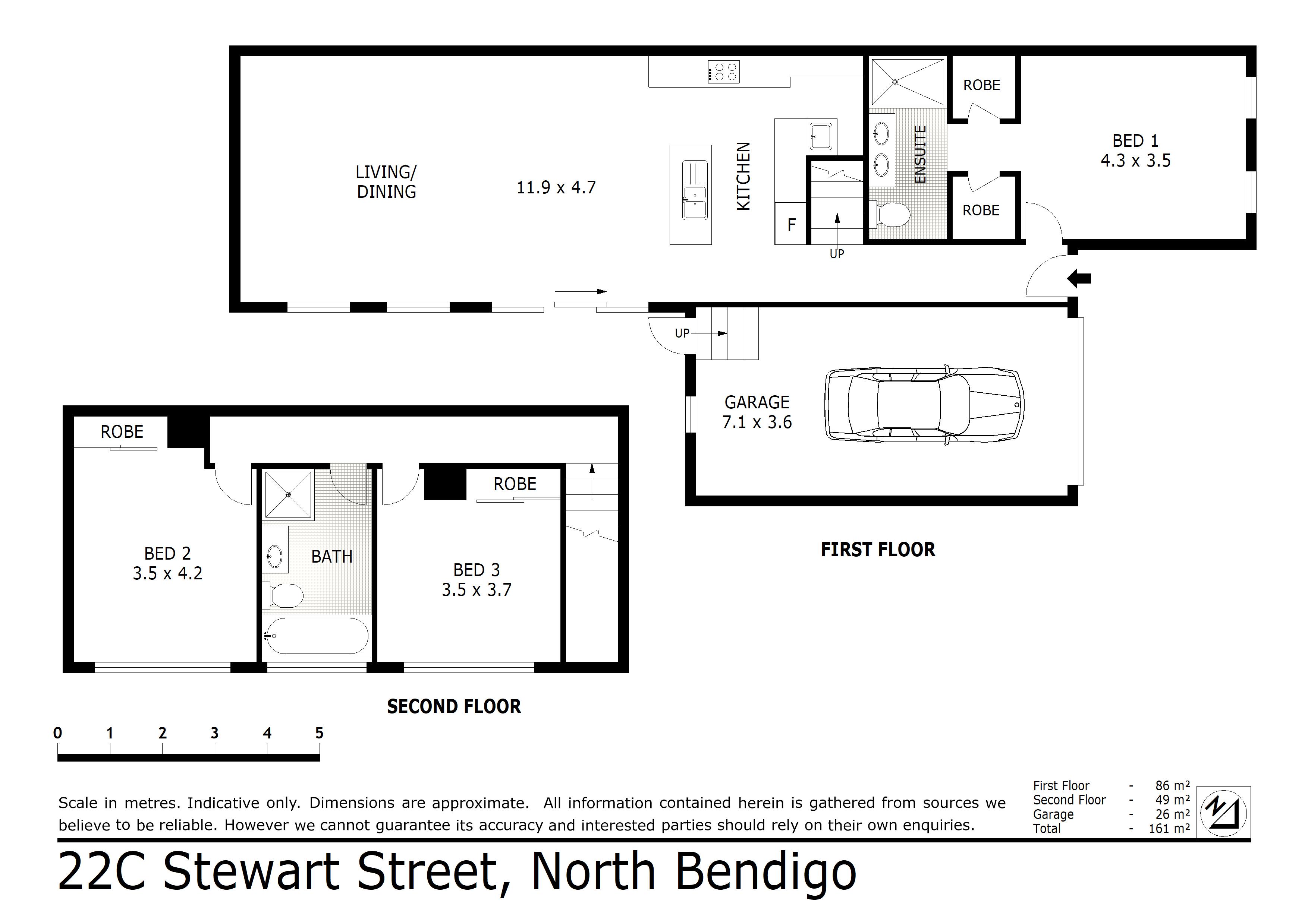 22C Stewart Street, North Bendigo, VIC 3550