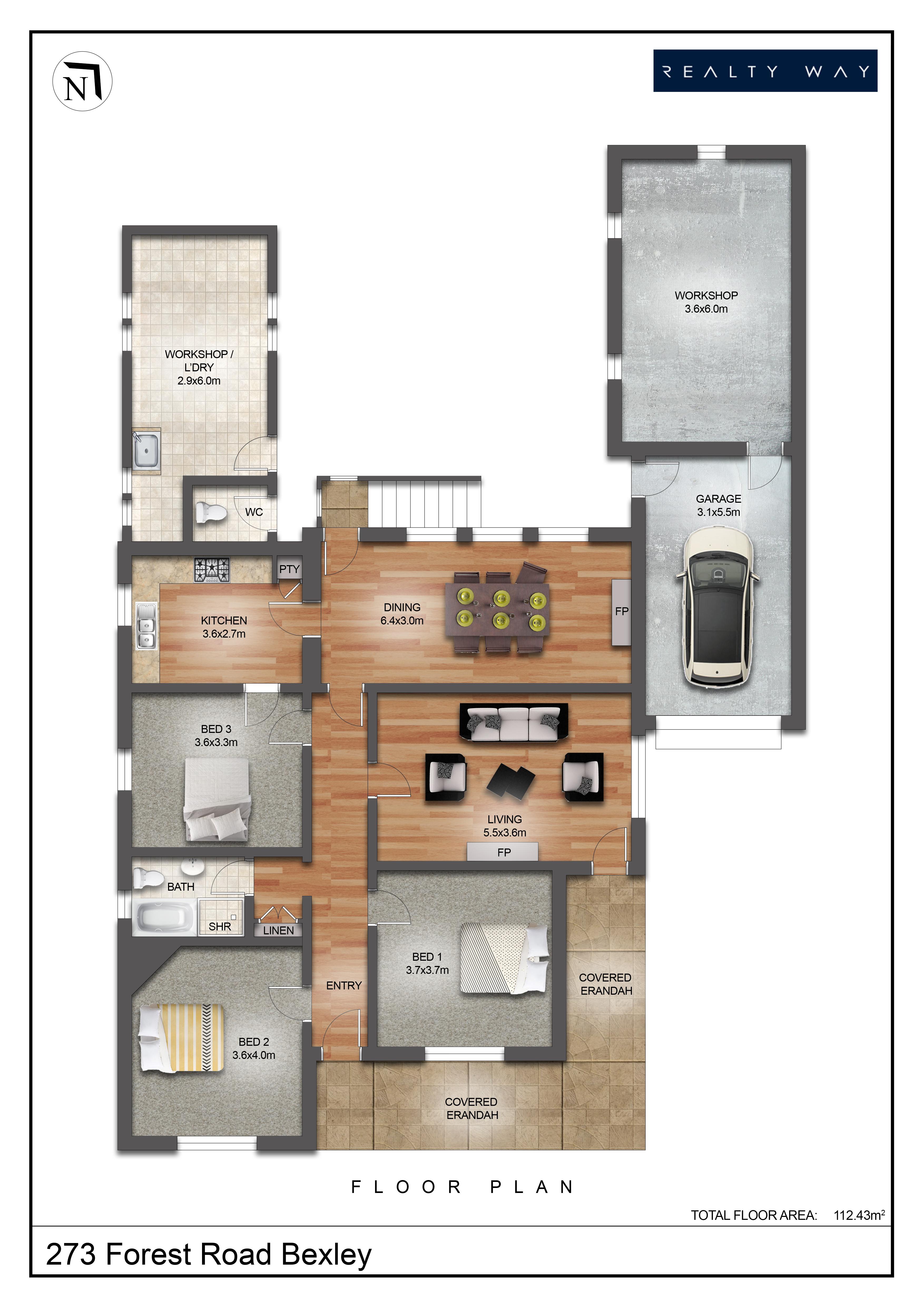 floor plan 273