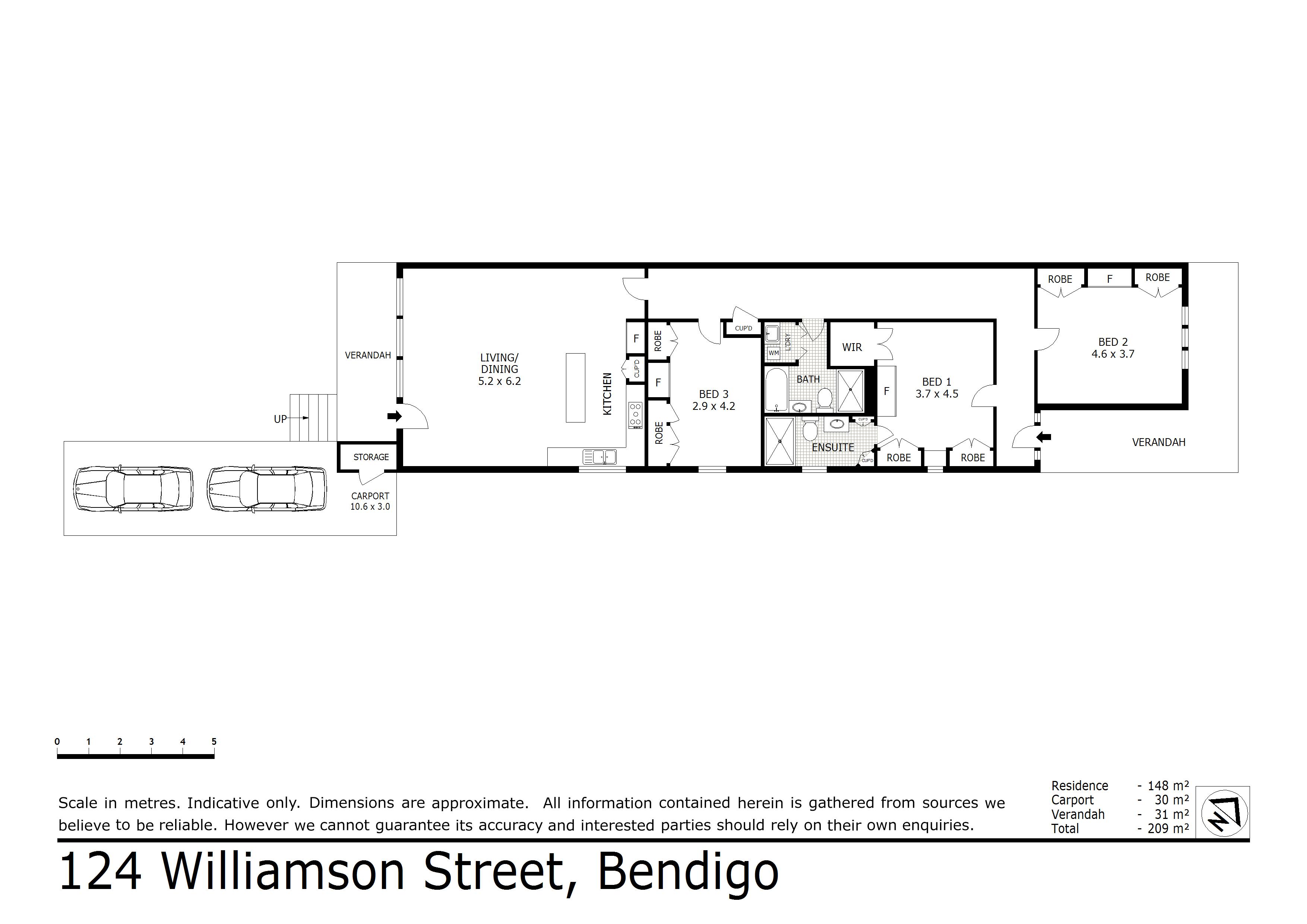 124 Williamson Street, Bendigo, VIC 3550