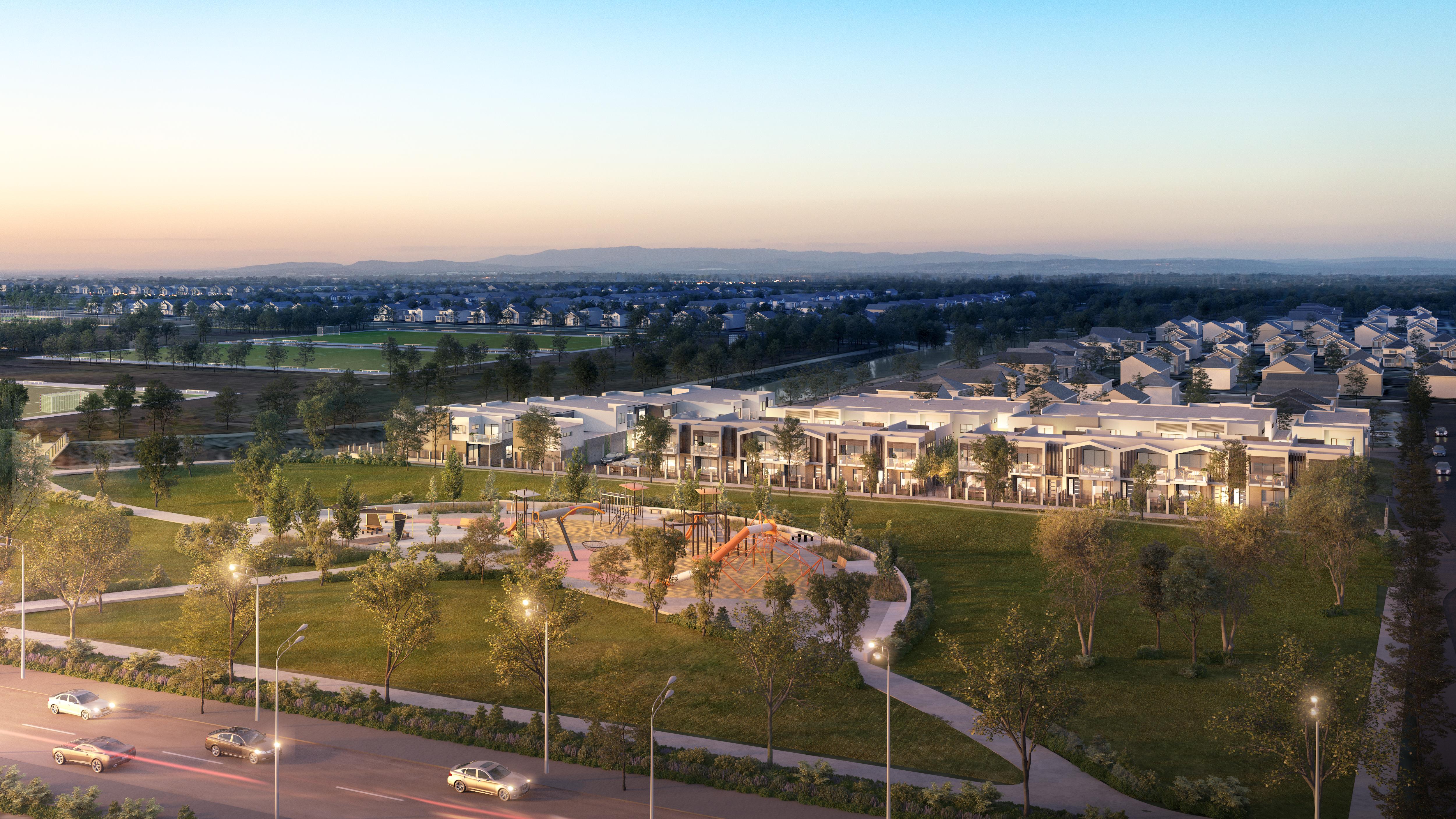 Abiwood  V10 Aerial Overview Full